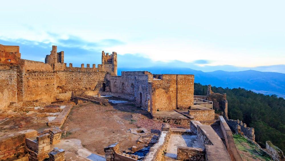 Vistas al Castillo de Alcalá de Xivert - Alcossebre.