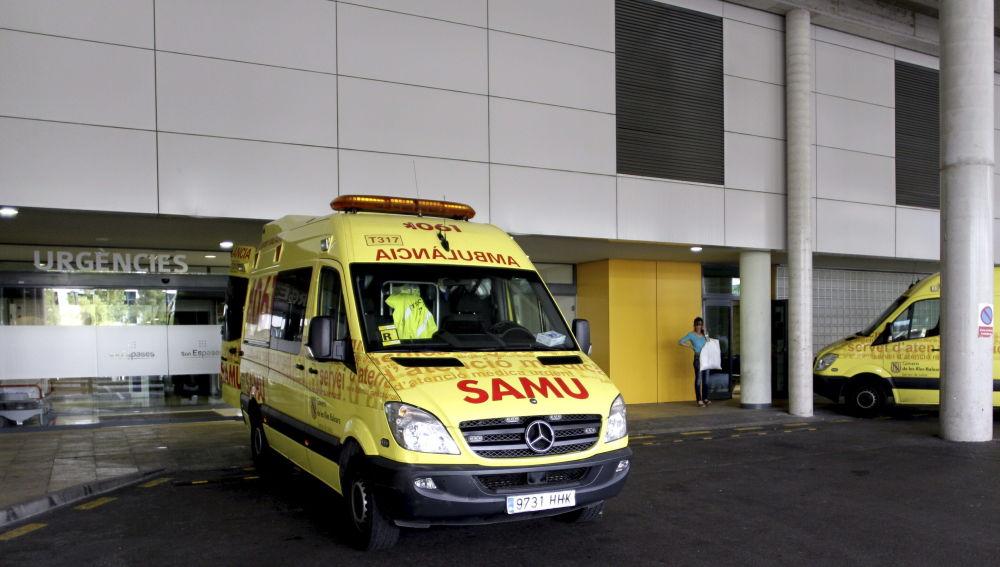 Entrada de urgencias del hospital Son Espases de Palma
