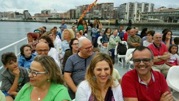 Travesía en barco por la Bahía de Santander