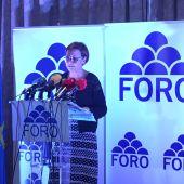 Carmen Moriyón optará a la presidencia de Foro Asturias