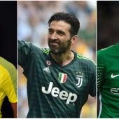 Los tres porteros más caros de la historia del fútbol