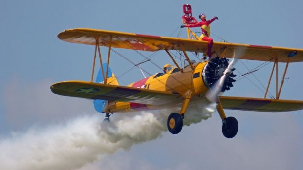 "Ainhoa Sánchez: ""Tengo vértigo pero bailo a 600 metros de altura en las alas de un avión"""
