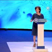 """Santamaría pide a los compromisarios que respeten el voto de los afiliados: """"Yo no estaría en esta tribuna si no fuera la más votada"""""""