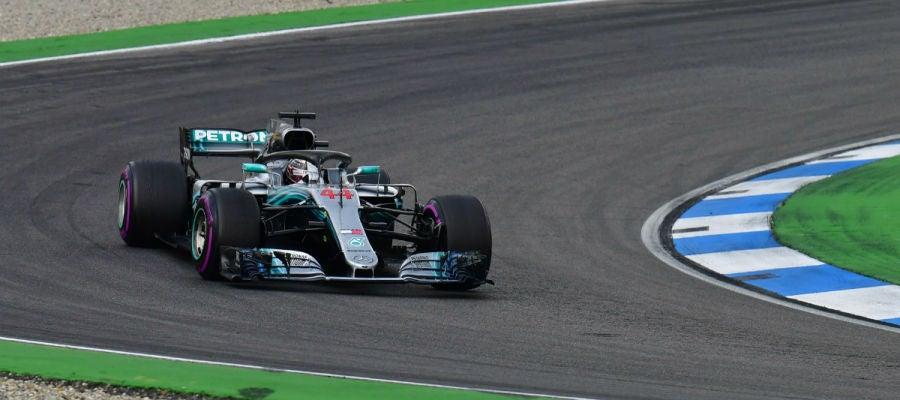 Lewis Hamilton, en Alemania