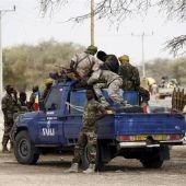 Miembros de Boko Haram en una imagen de archivo
