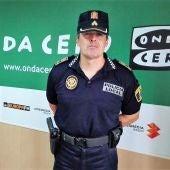 César Zaragoza, comisario principal de la Policía Local de Elche.