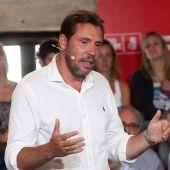 El portavoz del PSOE y alcalde de Valladolid, Óscar Puente