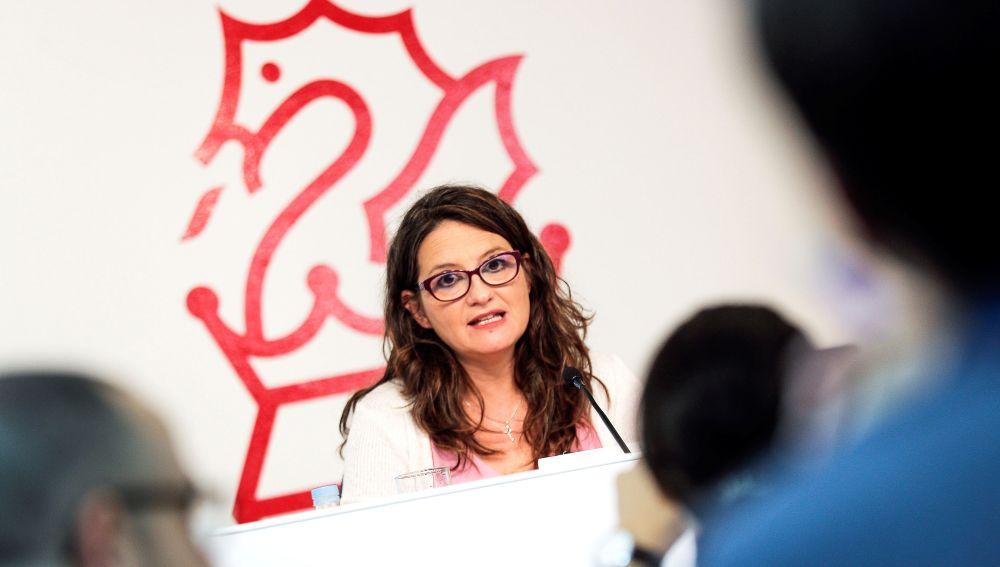 Mónica Oltra, vicepresidenta del Consell.