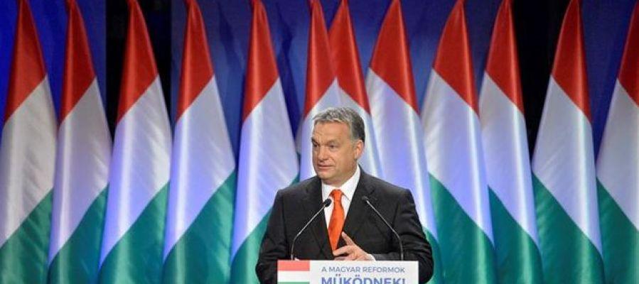 En la imagen el presidente de Hungría Viktor Orbán