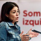 La vicesecretaria general y portavoz del Grupo Socialista, Adriana Lastra