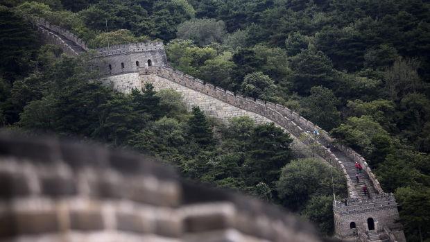 China usará drones para reparar la Gran Muralla