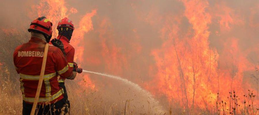 Incendio en el Algarve