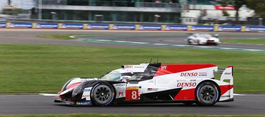 El Toyota número 8 de Fernando Alonso