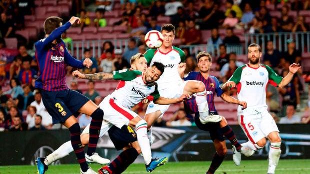 """Jony Rodríguez: """"El equipo estaba un poco con los brazos abajo después del primer gol del Barça"""""""