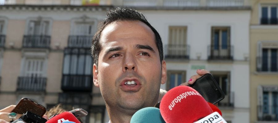 El portavoz de Ciudadanos (Cs) en la Asamblea de Madrid, Ignacio Aguado