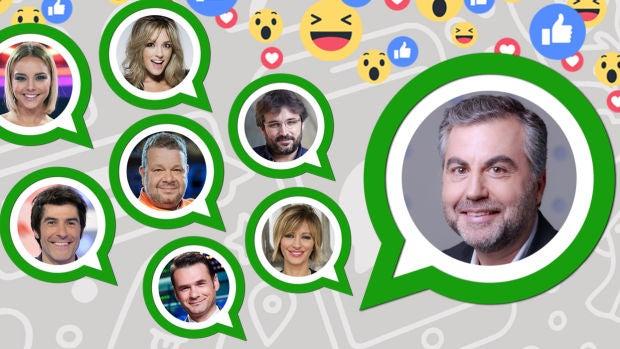 El WhatsApp de Carlos Alsina se llena de propuestas de las caras de Atresmedia