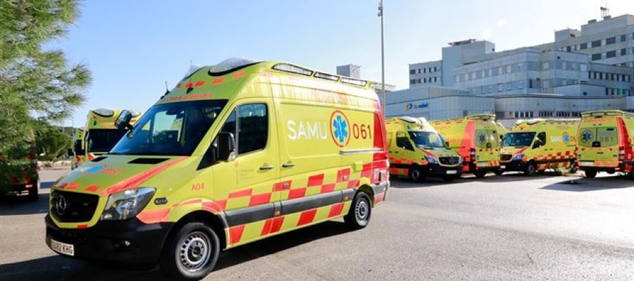 Ambulancias del SAMU 061