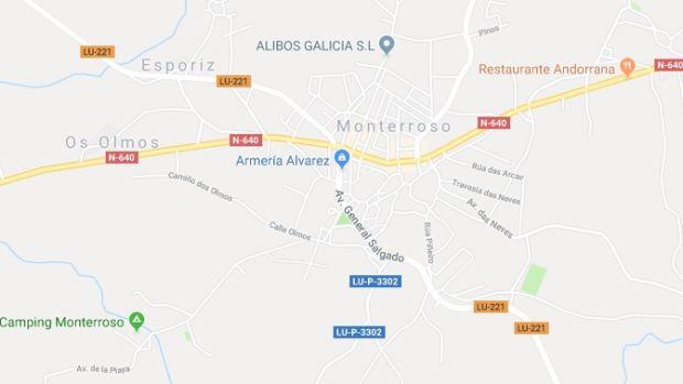 Se registra un seísmo de 4,1 grados  en Monterroso, Lugo