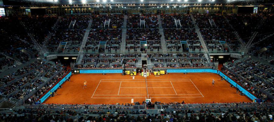 Pista de tenis de Madrid