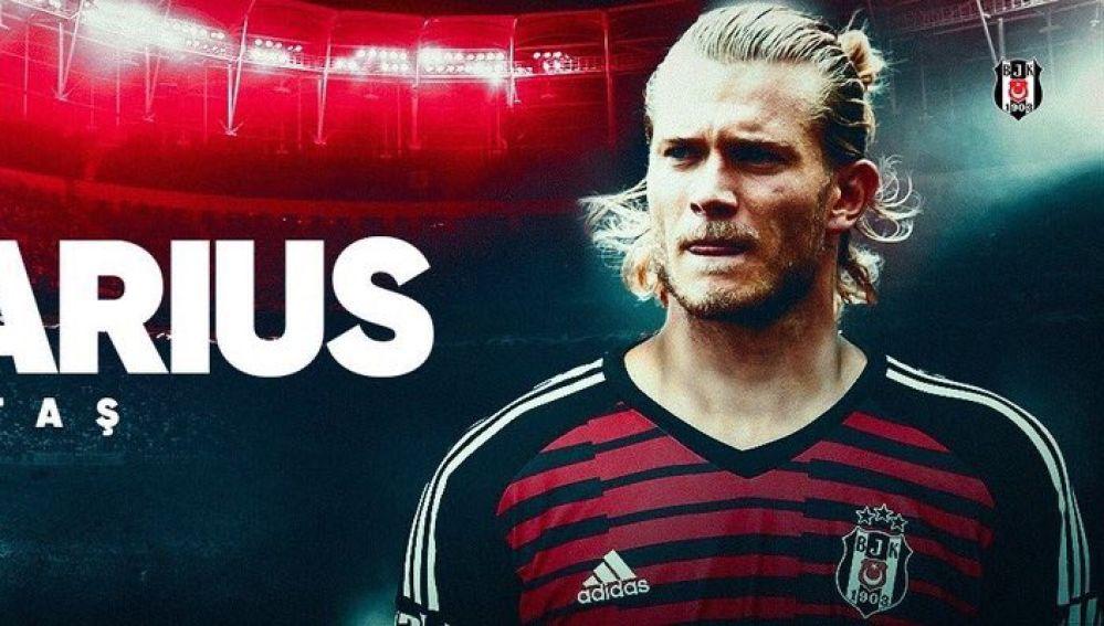 Loris Karius, nuevo jugador del Besiktas