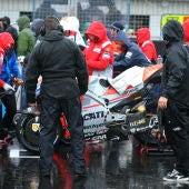 Las condiciones de la pista obligan a retrasar la carrera en Silverstone