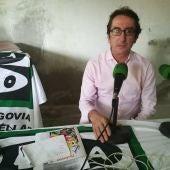 Javier Bermejo, presidente de la asociación de camareros.