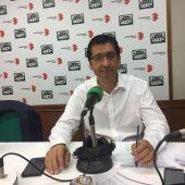 José Manuel Caballero, durante la entrevista en Onda Cero C.Real