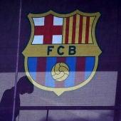 El escudo del FC Barcelona