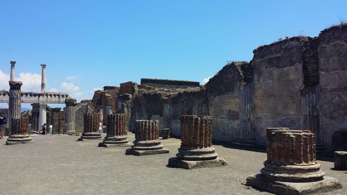 Punta Norte: Ya había grafitis en las paredes de Pompeya antes de la erupción del Vesubio