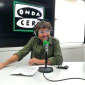 Jordi Évole en el estudio de Onda Cero Barcelona