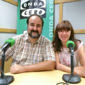 Manuel Ferrero y María Cosme de la Asociación de Apoyo al Pueblo Sírio