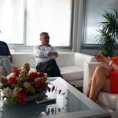 Reunión entre la alcaldesa, el concejal de Urbanismo y el jefe del Servicio de Arquitectura y Obras