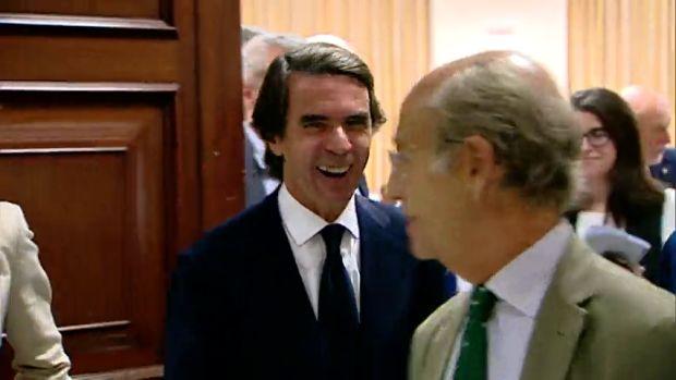 """El Cuaderno de Chapu: """"Aznar se ha ido vivo, y riéndose"""""""