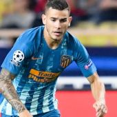 El defensa del Atlético, Lucas Hernández.