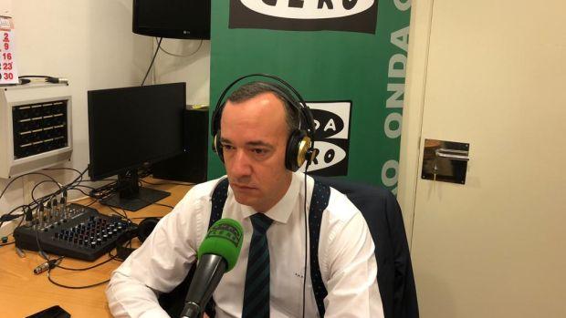 """Francisco Martínez: """"Tengo muchas dudas de que lo que ha hecho el PSOE sea compatible con la Constitución"""""""