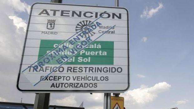 Nuevo protocolo anticontaminación Madrid