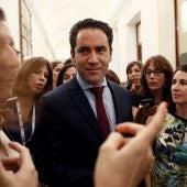 Teodoro García Egea en el Congreso