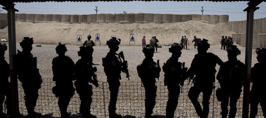 Varios militares iraníes