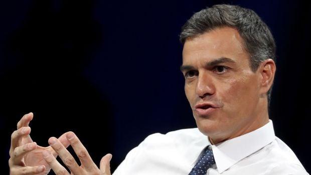 El jefe del Gobierno, Pedro Sánchez