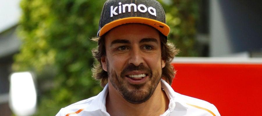 Fernando Alonso, en Singapur