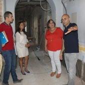 Carmen Olmedo durante la visita al Centro Guadiana I de C.Real
