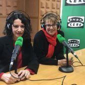 Gloria Poyatos, magistrada del TSJC e Inés Herreros, Fiscal