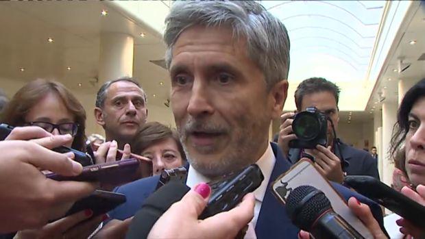 El ministro del Interior, Fernando Grande-Marlaska