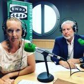 El presidente de la asociación de contructores de Baleares, Eduardo López, en una entrevista en Onda Cero.