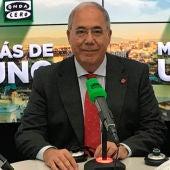 El presidente de CRUE, Roberto Fernández