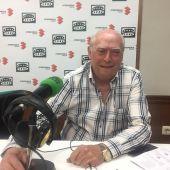 Cipriano Arteche durante la entrevista en Onda Cero