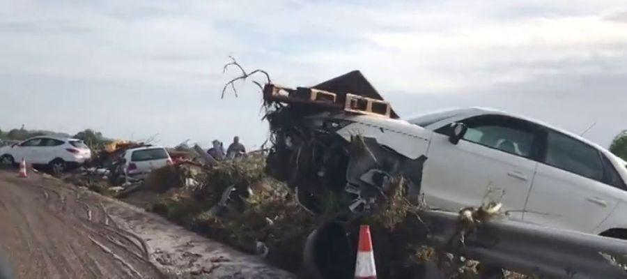 Las sobrecogedoras imágenes de las inundaciones en Sant Llorenç desde el epicentro de la catástrofe