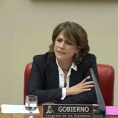 """La ministra Delgado, sobre los audios con Villarejo: """"Soy una víctima por partida doble"""""""