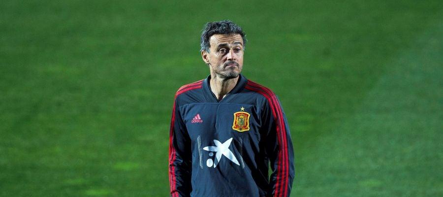 El seleccionador español, Luis Enrique.