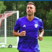 El jugador del Cardiff City, Víctor Camarasa.